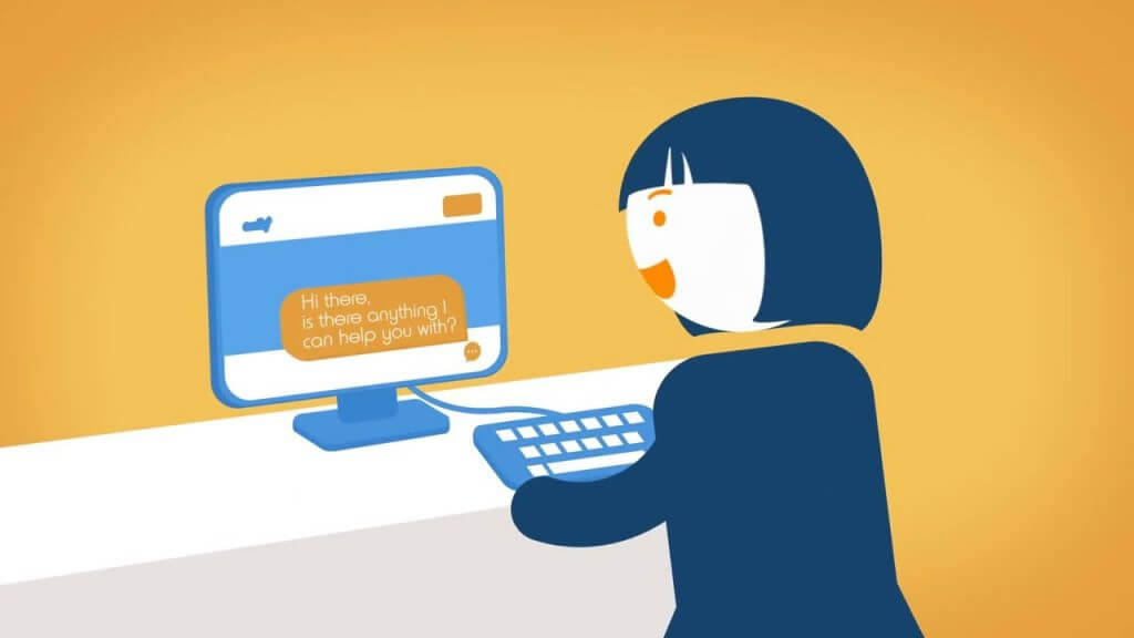Check this live chat options for WordPress