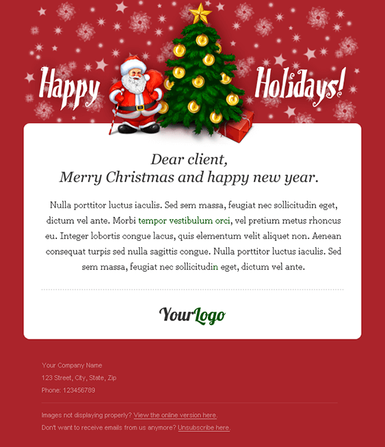 Creating the perfect holiday newsletter for your small business m4hsunfo